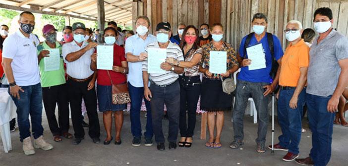 Incra e Prefeitura entregam Concessão de Uso para famílias assentadas de Moju.
