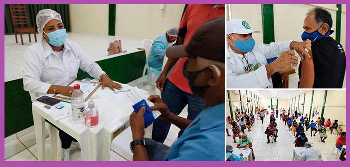 A Prefeitura de Moju continua, nesta terça-feira, 09/03, a vacinação de idosos com 70 anos ou mais.