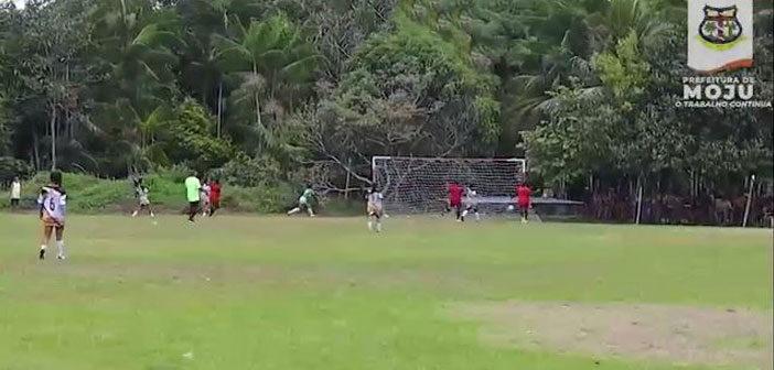 """Rodada do campeonato """"Taça Cidade de Moju"""""""