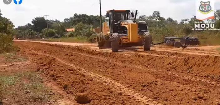 A prefeitura municipal de Moju em parceria com Governo do Estado deram início nas obras de pavimentação asfáltica da Vila Nova Vida (Sococo).